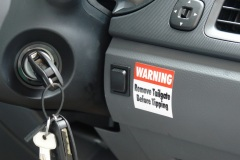 Ford Ranger Warning