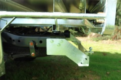 Nissan Navara Tow Bar Side