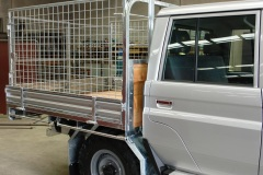 Toyota Landcruiser With Cage